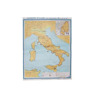 Карта Древняя Италия до середины III в. до н.э.