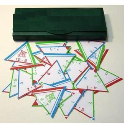 Математическая пирамида Вычитание до 100