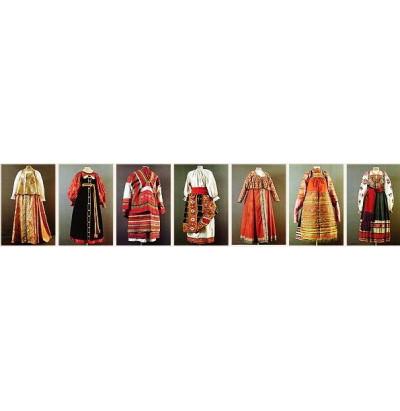 Слайд-альбом Традиционный русский костюм (20шт)