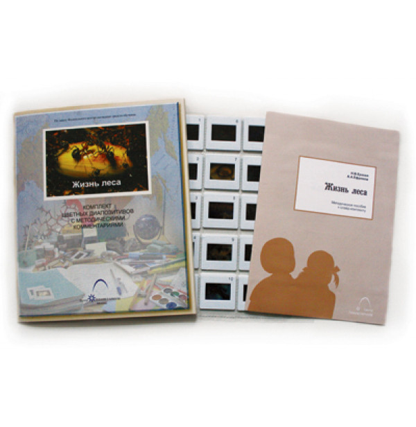 Слайд-альбом Жизнь леса (20 шт)