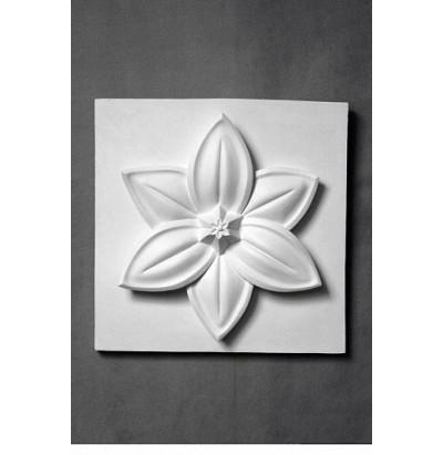 Орнамент Цветок лотоса гипс 201112