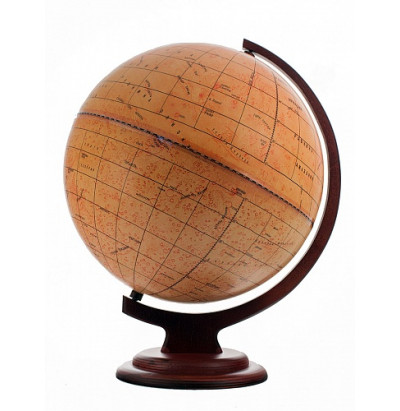 Глобус Марса D=320 (дуга,подставка-дерево)