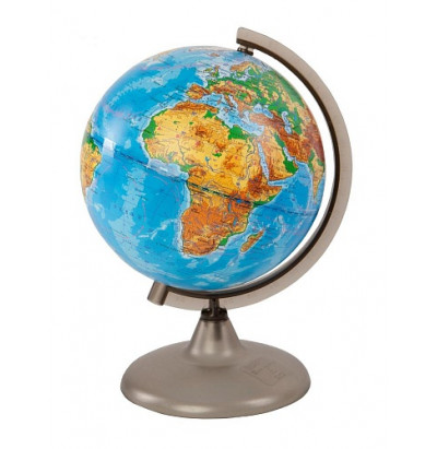 Глобус Земли физический. D=200