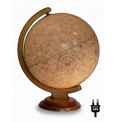 Глобус Луны D=320 (дуга,подставка-дерево) с подсветкой