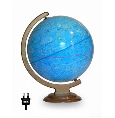 Глобус Звездного неба. D=320 (дуга,подставка-дерево) с подсветкой