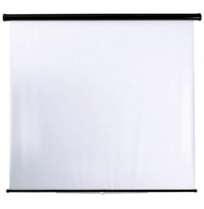 Экран настенный 1,80х1,80 м (с мех стопорения)