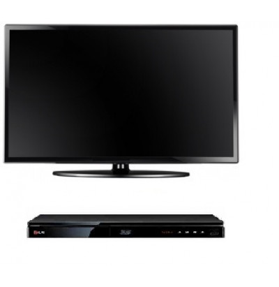 Телевизор LED - ЖК диагональ 32 (81,2 см.) + DVD плеер
